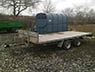 14 ft Flat Bed Galvanised Trailer