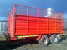 18 ft Grain and Silage Trailer